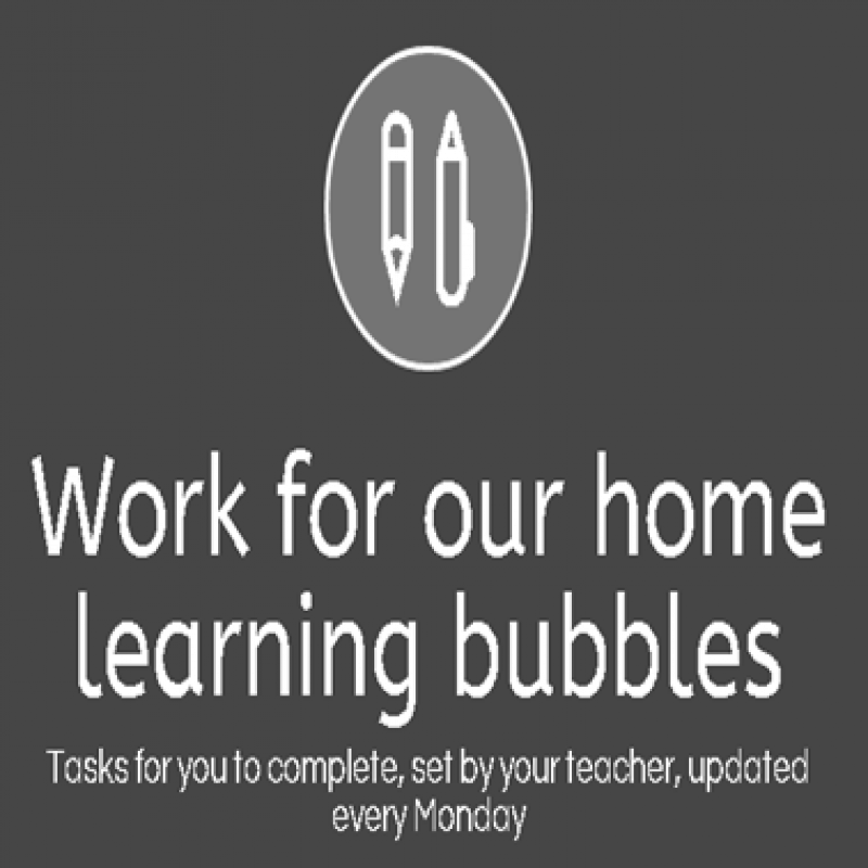 Home Learning Bubbles 3